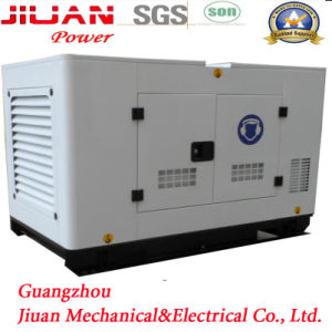 Guangzhou Factory Silent Electric Power 24kw 30kVA Power Diesel Generator Set Genset pictures & photos