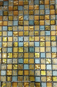 Glass Mosaic Mix Stone and Resin Jy27k pictures & photos