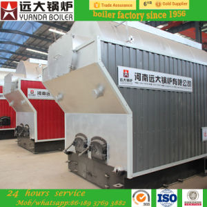 Hand Operate 1-6ton Capacity Wood Logs Barks Bagasse Waste Fired Steam Boiler pictures & photos