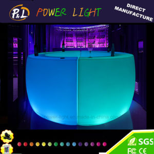 Bar Furniture Curved LED Lighting Counter pictures & photos
