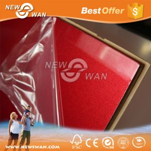 Red Color 12mm UV MDF pictures & photos