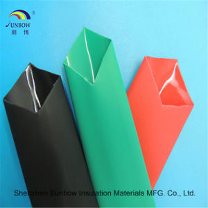 Flame Resistance Polyolefine Heat Shrink Tube with Glue pictures & photos