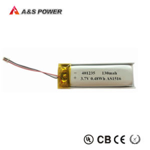 481133 Small 3.7V 130mAh Li Polymer Rechargeable Battery pictures & photos