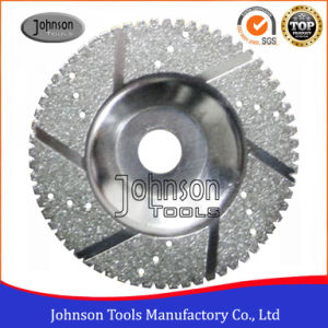 100-125mm Segmented Electroplated Diamond Cup Wheels for Marble and Granite Grinding pictures & photos