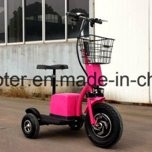 Only Factory 500W 3-Wheel Mobility E Scooter Ginger Roadpet with Ce pictures & photos