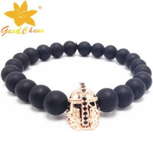 SMB-16120217 Black Mat Stone Jewellery UK Bracelet pictures & photos