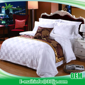Soft Discount 100 Cotton Hotel Bedding for Motel pictures & photos