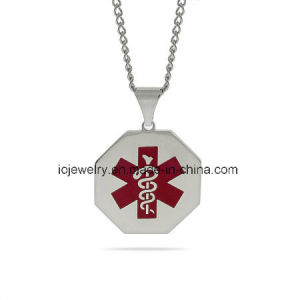 Custom Jewelry Medical Alert Pendant Necklace pictures & photos