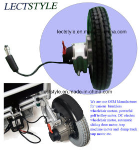 Brushless Wheelchair Motor Controller & Joystick on DC Wheelchair Motor pictures & photos