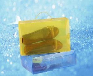 PP plastic storage clear shoe box(PP box) pictures & photos