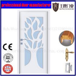Cheap Door Interior Wood White Painting Door pictures & photos