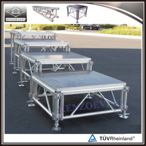 Aluminum Adjustable Wooden Stage Platform Risers pictures & photos