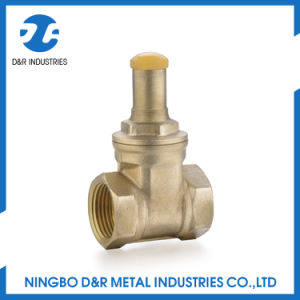 Hight Quality Lockable Brass Water Gate Valve pictures & photos