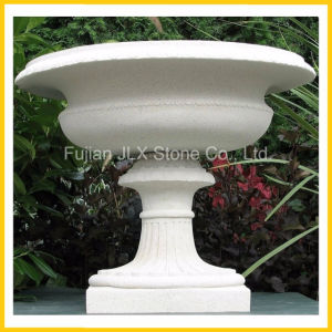 Cheap Price Granite Stone European Style Garden Flowerpot pictures & photos