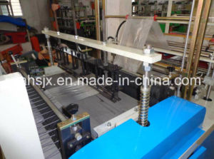 Double Layers Garbage Roll Flat Bag Making Machine (HSLJ-800) pictures & photos