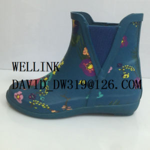Women′s Fashion Style Colourful Rubber Rainboots pictures & photos