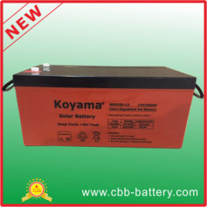 Hot Sale 12V250ah Lead Acid Battery for Photovoltaic Power Generation pictures & photos