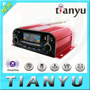 New 1DIN Car Amplifier SD/USB Motorcycle Amplifier Car Audio Subwoofer Amplifier pictures & photos