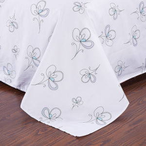 Factory Supply Discount 40s Bed Sheet Sets pictures & photos