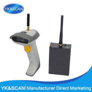 Hand-Held 1d Wireless Barcode Scanner/Reader with 1, 200mA Battery Capacity pictures & photos