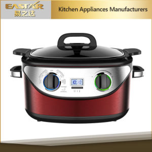 ETL Approval 7 in 1 Multi Cooker Slow Cooker Stainless Steel Mc-602D Slow Cooker pictures & photos
