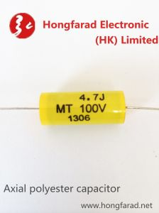 EMT Axial Metallized Polyester Capacitor for Impulse Circuit pictures & photos