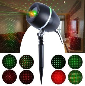 IP65 High Clear Oak Barrel Fashion Red Green Star Dots Sky Laser Light pictures & photos