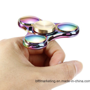 Rainbow Color Hand Spinner Metal Finger Spinner pictures & photos