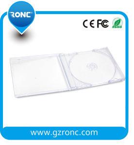 10.4mm Transparent Single/Double CD Jewel Case pictures & photos