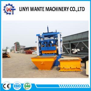 Qt4-24 Semi-Automatic Vibration Cement Hollow Paver Block Machine Price pictures & photos