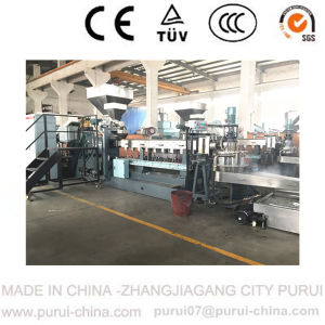 CaCO3 Compounding Twin Screw Extruder with Capacity 500kg Per Hour pictures & photos