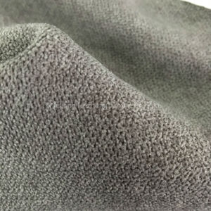 Hzhr Polyester Faux Woo Fabric for Sofa Upholstery Furniture Hometextile pictures & photos