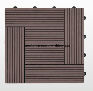 Outdoor WPC DIY Decking Tile for Promotion 300*300 pictures & photos