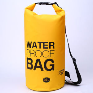 Promotional Outdoor Camping 20L Waterproof Barrel Backpack Dry Bag (YKY7273) pictures & photos