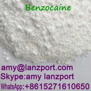 Benzocaine Safely Pass UK Customs Anesthetic Drugs CAS 94-09-7 pictures & photos