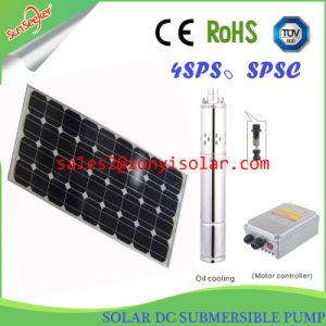 60m-100m Solar DC Brushless Submersible Pump with Controller pictures & photos