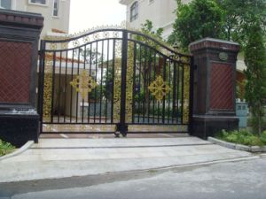 Customized Wrought Iron Metal Gate Products pictures & photos