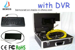 12PCS White LEDs Pipe Inspection Camera Systems with DVR pictures & photos
