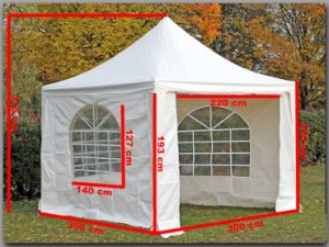 Sunplus 3X3m Folding Gazebo with Window for Event 2016 pictures & photos