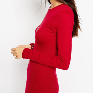 Elegant Custom-Made Sexy Cocktail Long Sleeve Dresses for Women pictures & photos