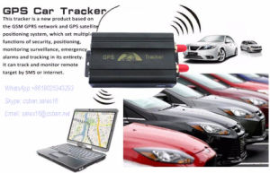 Dual SIM Card Coban Tk103A Plus Vehicle GPS Tracker Remotely Lock Door pictures & photos