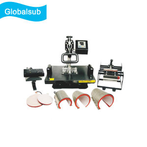 Combo 8 in 1 Heat Press Machine for Sublimation Printing pictures & photos