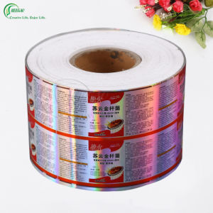 Custom Label with Hot Stamping Hologram Printing (KG-PL003) pictures & photos