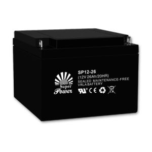 UPS Battery 12V 26AH with CE and UL Certificated pictures & photos