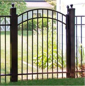 Anti-Rust Garden Gate Fencing with Black Powder Coated pictures & photos