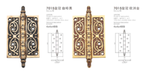 2016 New Style Luxury Brass Hinge (7015) pictures & photos