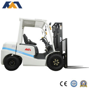 New 3ton Gasoline Forklift with Japanese Nissan K25 CE Certification pictures & photos