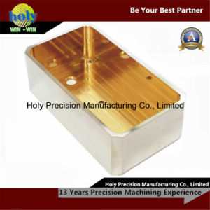 Brass Housing CNC Milling Machining Withe Nickel Plated pictures & photos