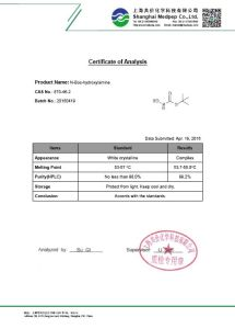 Tert-Butyl N-Hydroxycarbamate [36016-38-3] pictures & photos