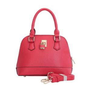 Fashion Front Lock Red Lady Shell Bag Women Handbag (MBNO042038) pictures & photos